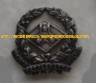 Straits Settlements Police badge